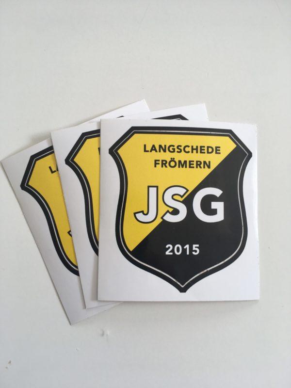 JSG-Aufkleber